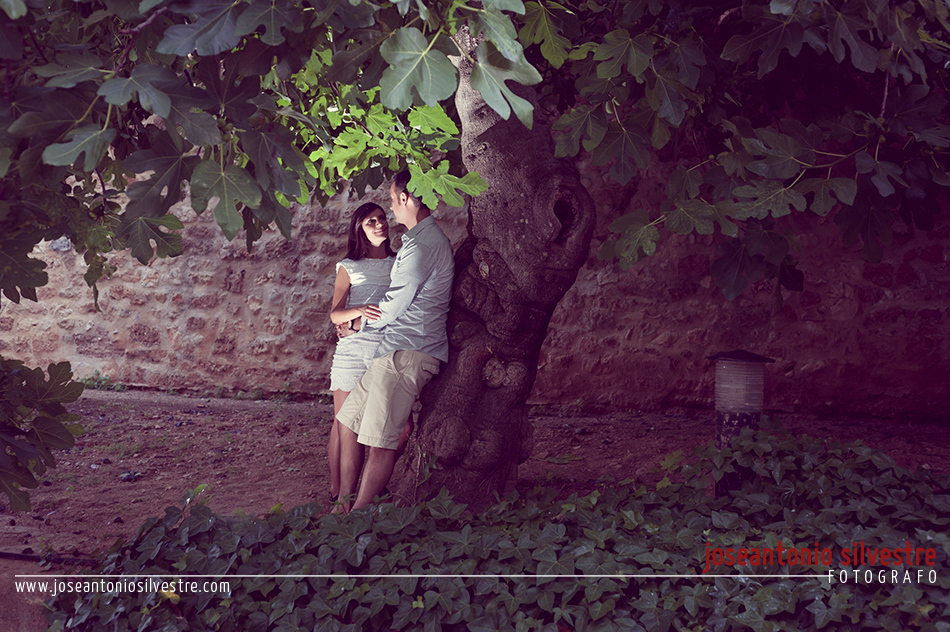 Fotografo de bodas en Alicante - Preboda en el Castillo de Denia